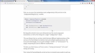 Выбор языка программирования. Паттерны Scala.