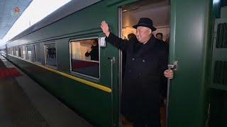 إعلام صيني: قطار كيم جونغ أون قد يكون بطيئاً جداً ليذهب به إلى فيتنام …