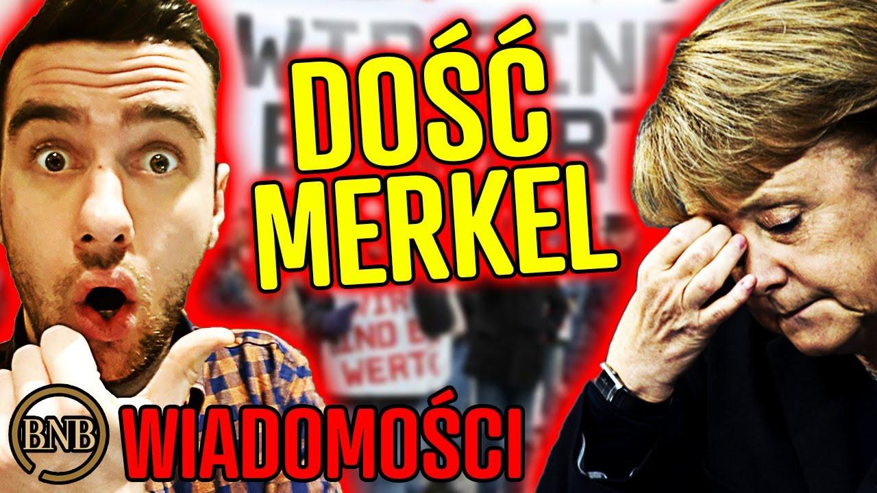 Niemcy mają DOŚĆ! Wolą Kaczyńskiego od Merkel | WIADOMOŚCI