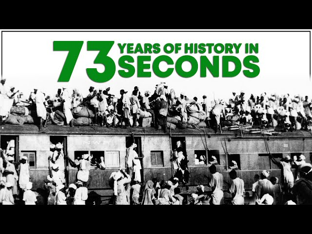 73 Years Of History Of Pakistan In 73 Seconds