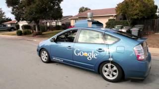 Машина которая сама везет водителя от гугл
