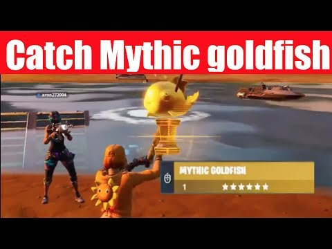 How To Catch Mythic Gold Fish + Fortnite Fishing Competition UPDATE!
