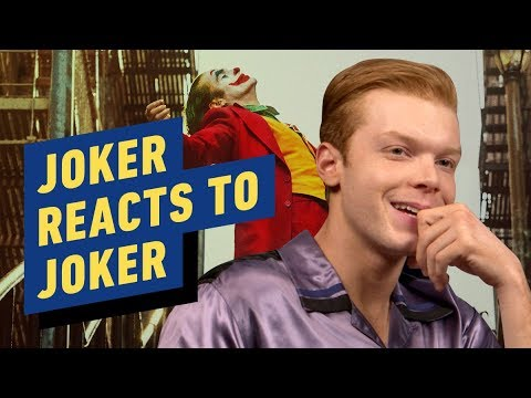 Gotham's Joker Cameron Monaghan Reacts to Joaquin Phoenix Movie