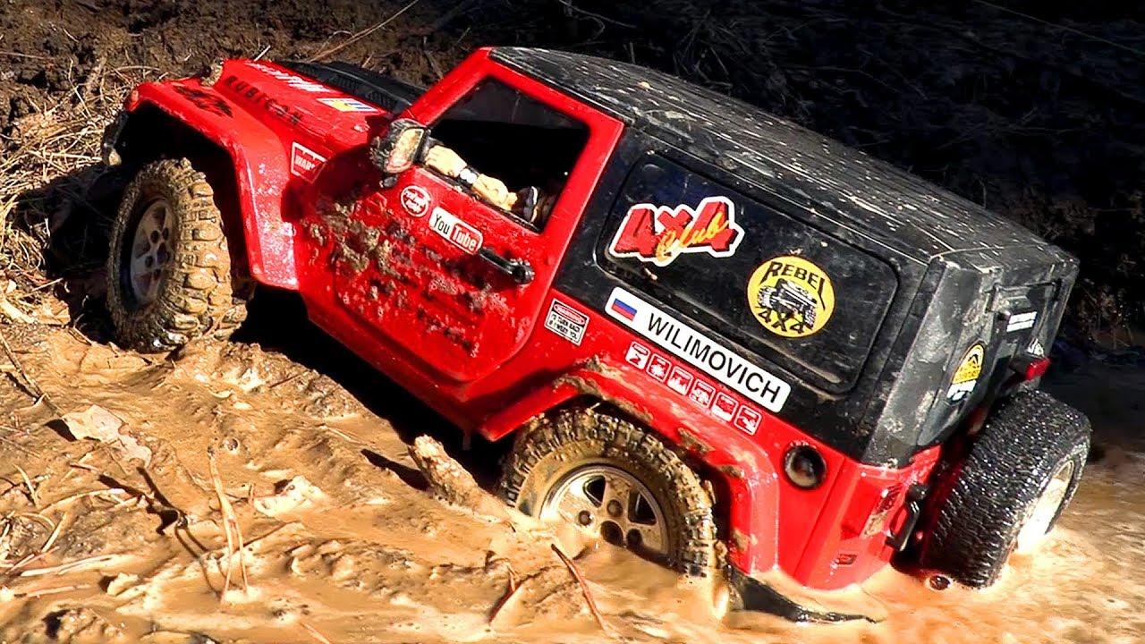 Радиоуправляемые машины в грязи 4х4 — часть 5