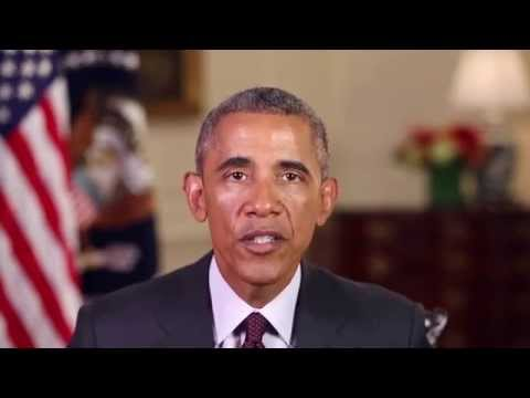 President Obama's message for the 2015 ISNA annual convention & It's current President Azhar Azeez