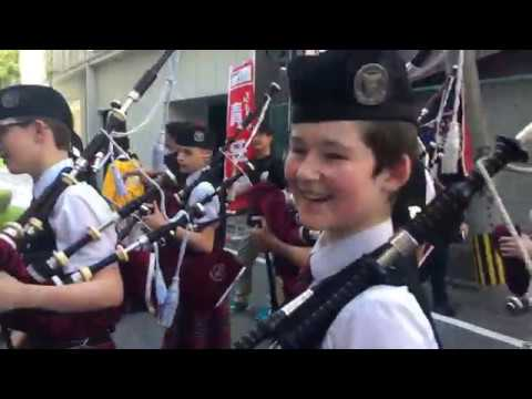 Pipes and Drums Japan Trip 2018