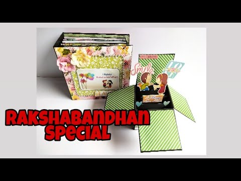 Scrapbook ideas || Rakshabandhan Special || Gift ideas