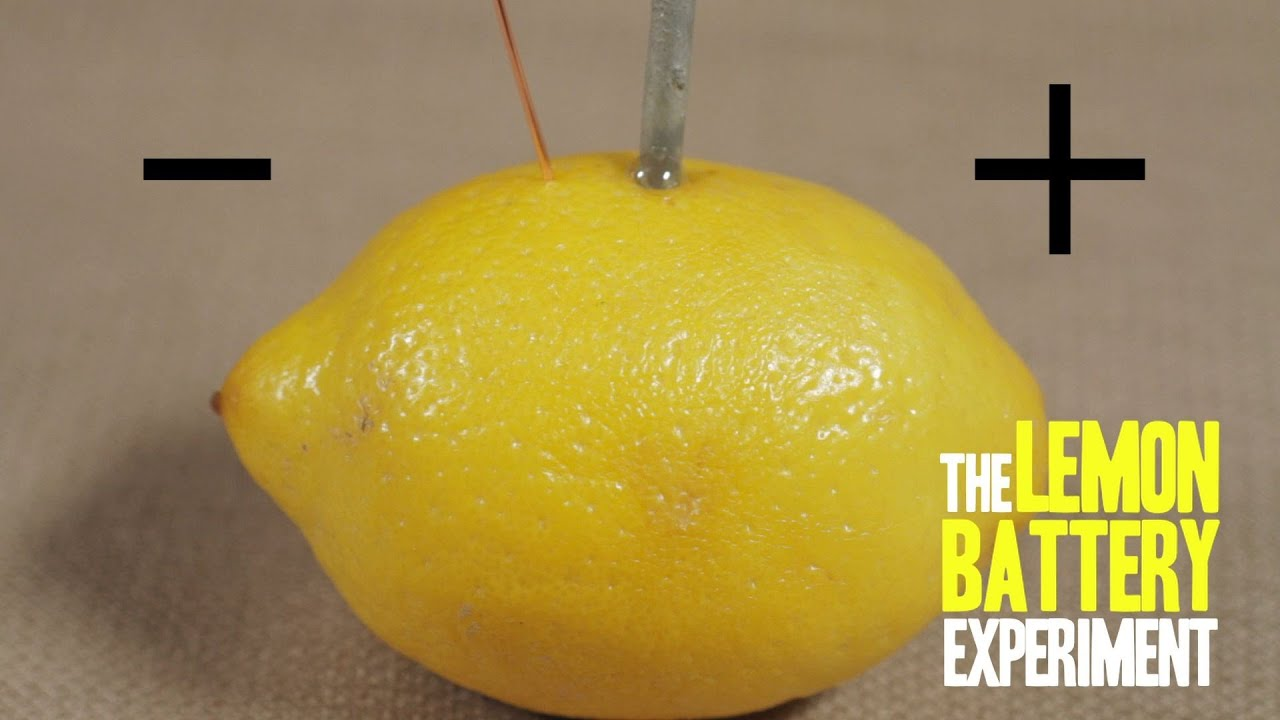 How To Make A Lemon Battery Youtube Science 9 Circuit Diagrams