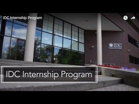 IDC Internship Program