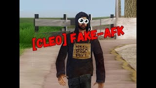 CLEO Fake AFK для SAMP