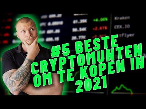 #5 BESTE CRYPTOMUNTEN OM IN TE INVESTEREN IN 2021: Deze Crypto Kopen Om Cryptomiljonair te Worden?!