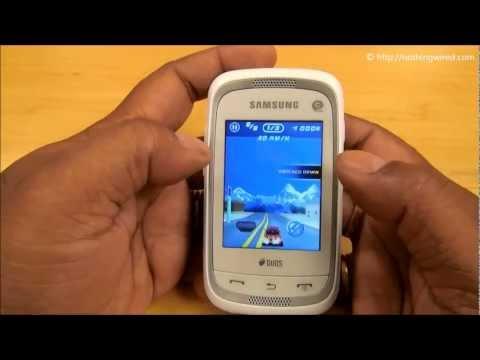 Samsung Champ Neo Duos Review full HD: Interface walkthrough