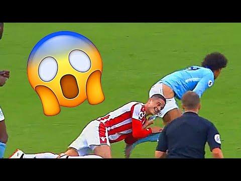 Premier league funny moments 2017,18