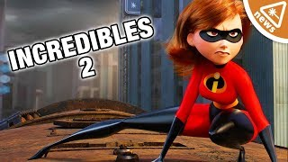 Did The Incredibles 2 Trailer Secretly Reveal Its True Villain? (Nerdist News w/ Jessica Chobot)