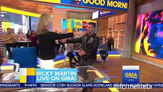(INTERVIEW) Ricky Martin on GMA (January 17, 2018)