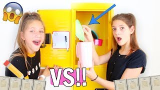 Back to School Locker Decorations! 🎨DIY vs KIT 💰 Hope Marie vs Annie Rose