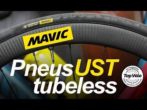 Image de la vidéo Pneus Mavic Tubeless UST - 1ère partie : Présentation technique