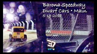 Barona Speedway Dwarf Car Main • 5-19-2018 • As seen by #37's GoPro