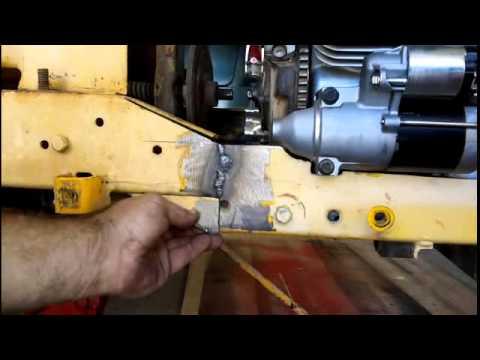 Cub Cadet narrow frame Kohler command conversion - YouTube