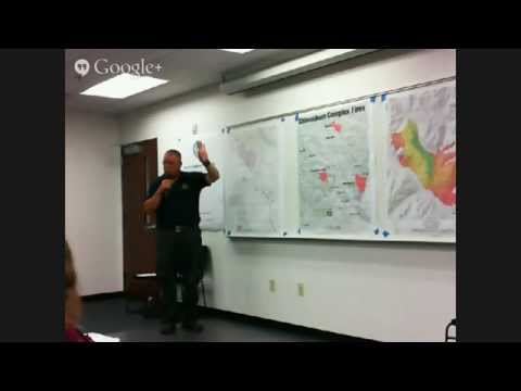 Entiat Public Meeting - Duncan Fire - Aug 12, 2014 - 7pm (PT)