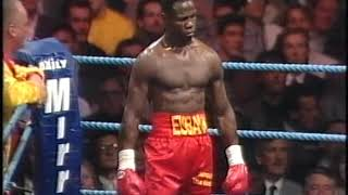 Chris Eubank vs Tony Thornton