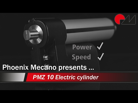 Electric cylinder PMZ10 V12  V24 DC12 DC24 english | Phoenix Mecano