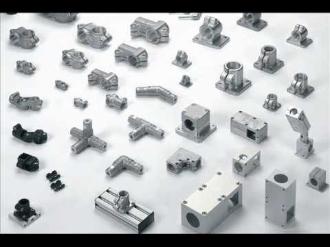 Rohrverbinder youtube for Uniones para perfiles cuadrados de aluminio