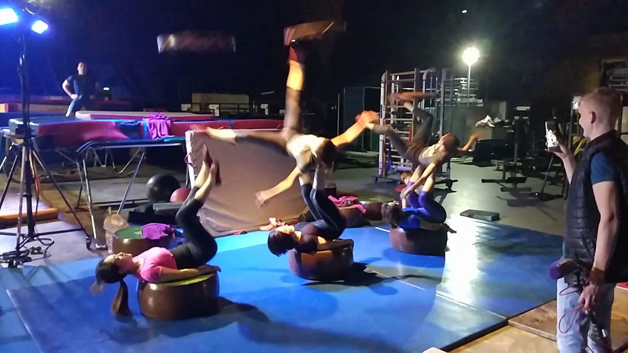 Цирк Дю Солей в Москве. Шоу OVO. Репетиция