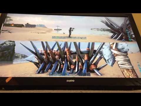 Ark SplitScreen GamePlay