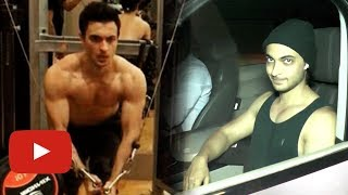 Salman Khan Brother In Law Aayush Sharma Hits The Gym, SPOTTED