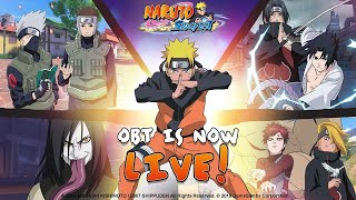 Naruto: Slugfest SEA - OBT Gameplay First Look ( Open World MMORPG ) AVAILABLE - Android/IOS