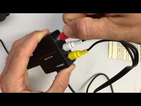 Bleiden HDMI2AV Video Converter for Roku Streaming Stick