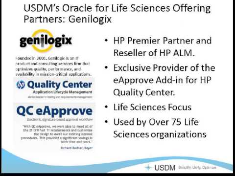 Validate ERP systems Using HP Asset Lifecycle Management with Genilogix eApprove Recording 03012012