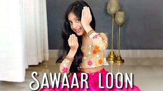 Sawaar loon   Lootera   Sitting choreo quick cover   Ishanvi Hegde   Laasya