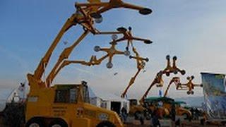 Невероятные машины для обрезки деревьев и стрижки кустов