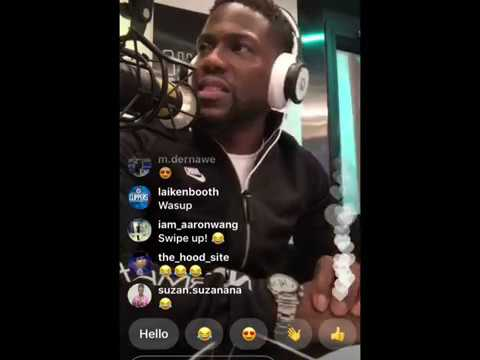 KEVIN HART LOL RADIO ON SIRIUS XM - TALKS BEING TO OLD FOR THE CLUBS & GOAT COMEDIANS
