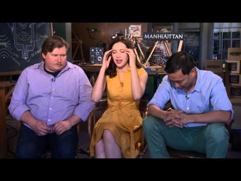 Michael Chernus, Alexia Fast and Eddie Shin talk about Manhattan
