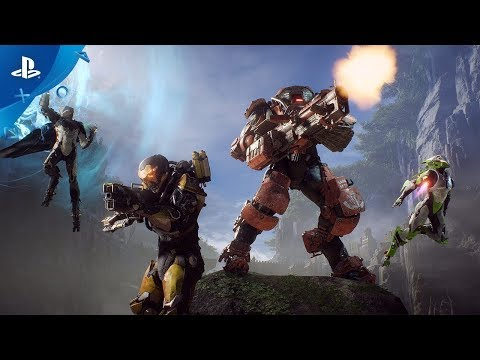 FIRST Full Gameplay ANTHEM on PS4 PRO. Legion of Dawn Edition