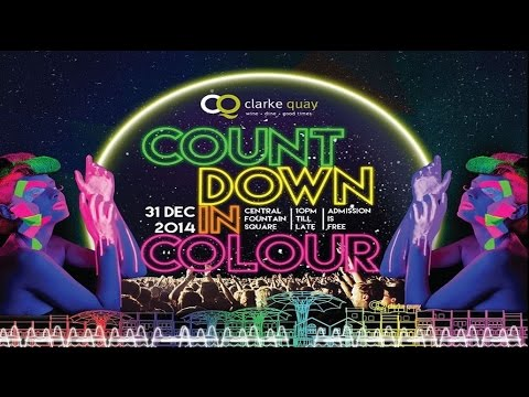 Clarke Quay New Year Countdown Party | Singapore