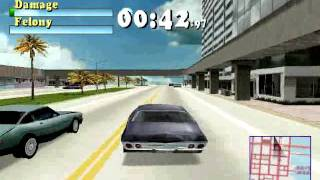 Driver the game - You Are The Wheelman review on the Playstation 1 or PSX or PS1!
