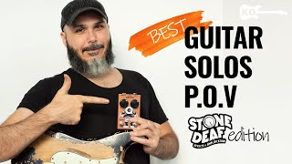 Best Guitar Solos... From My P.O.V! Stone Deaf Qboost