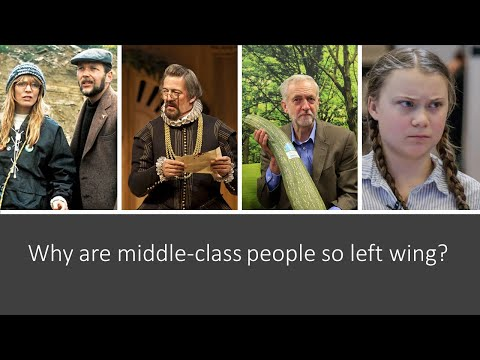 Why are Middle-class People so Left Wing?