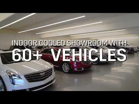 Coulter Cadillac Phoenix Showroom Overview