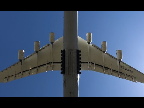 4K | Amazing ANTONOV 225 Returns to the Sky | Spectacular Overhead landing at Leipzig