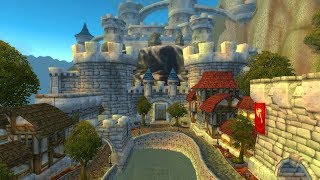 world of warcraft then and now stormwind
