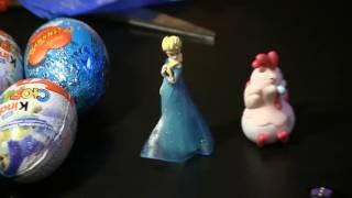 Распаковка различных яиц с сюрпризами. Kinder joy, Kinder surprise, Sweet box и др. 30.12.2016