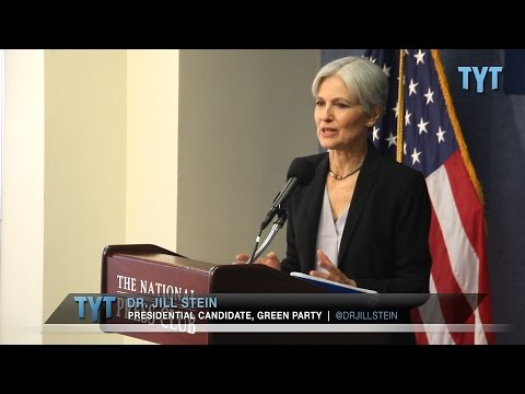 FULL PRESS CONFERENCE: Dr. Jill Stein on Climate Change, Long-shot Candidacy