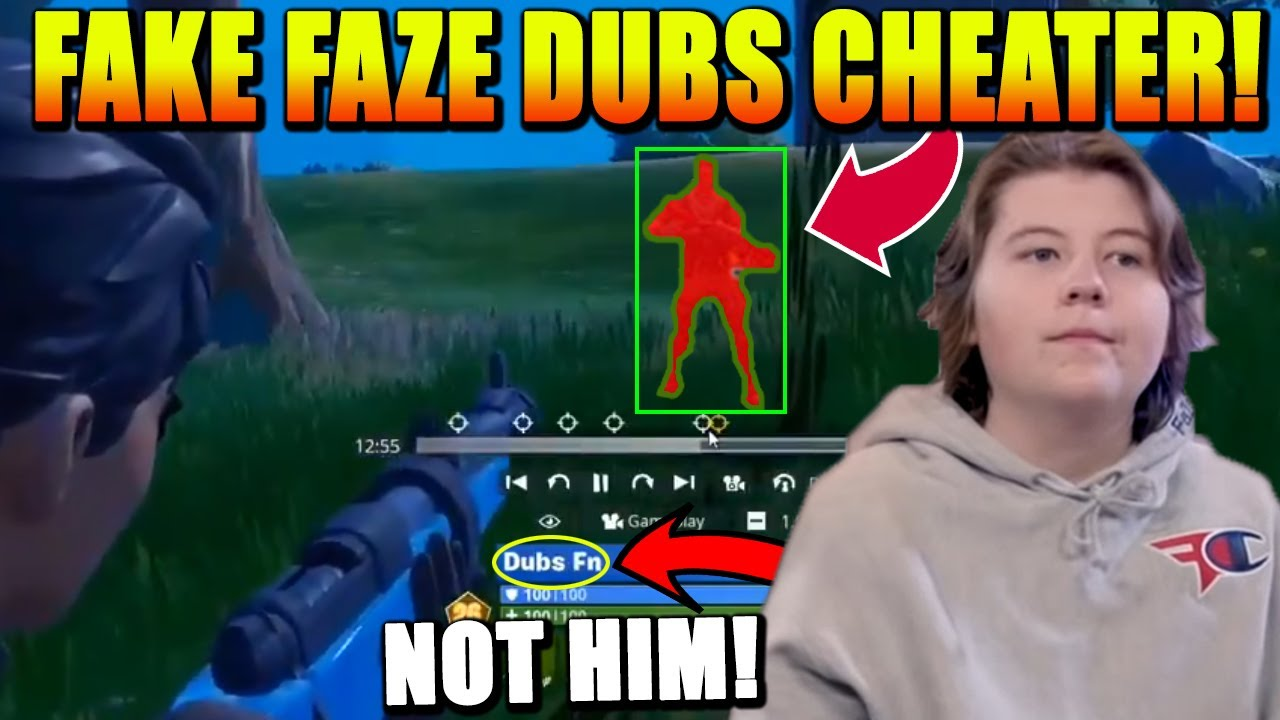 This FAKE FaZe Dubs is HACKING! Pros FED UP with Aimbot! NRG Ron Opens up about Clix & Unknown!