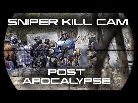 Airsoft Sniper Kill Cam Post Apocalypse