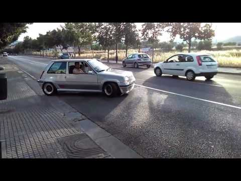 Renault 5 And 11 Turbo Taking Off